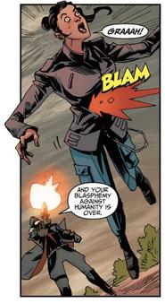 Berg dispara a Violet