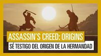 Assassin's Creed Origins El Origen de la Hermandad