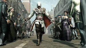 AC2 Ezio in crowd
