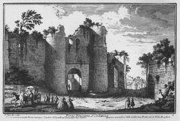 La Puerta Pinciana antes