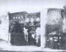 La Puerta Salaria en 1870