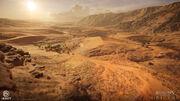 Terrain Qattara Depression 02 por Louis Lavoie