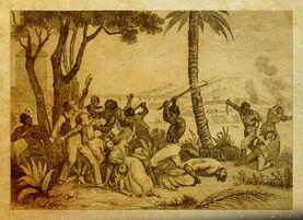 Ceremonia en Bois Caïman