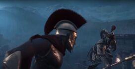 Leónidas se lanza contra Kurush 1