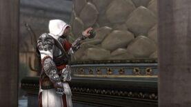 Ezio encuentra el Fruto en San Pedro