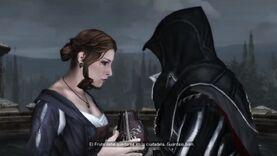 Ezio encarga el Fruto a Lucrecia