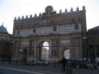 Puerta del Pueblo Fachada externa