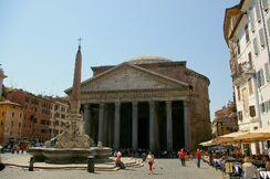 Rom Pantheon mit Obelisk