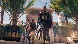 Medunamun y sus guardias
