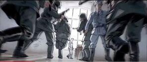 Heisenberg huyendo de Gorm