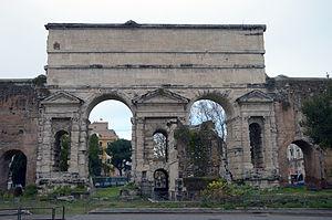 La Puerta Praenestina hoy
