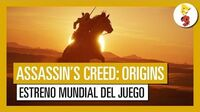 Assassin's Creed Origins Estreno Mundial E3 2017 (Tráiler Gameplay)