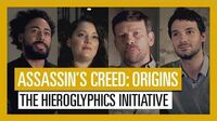 Assassin's Creed Origins vídeo de presentación de La Iniciativa Jeroglífica