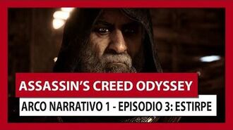 ASSASSIN'S CREED ODYSSEY ARCO NARRATIVO 1 - EPISODIO 3 ESTIRPE
