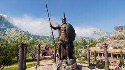 Estatua de Leónidas en Esparta