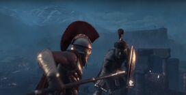 Leónidas se lanza contra Kurush 2