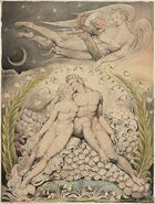 Blake's Adam and Eve