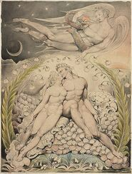 Blake's Adam and Eve