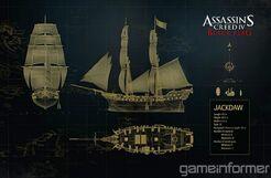 Assassin s creed iv black flag jackdaw ship by dom098652-d6bvi7m