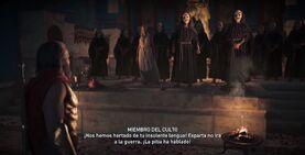 El Culto calla a Leónidas