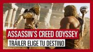 Assassin's Creed Odyssey Tráiler Elige tu Destino