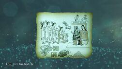 Cortés y La Malinche conocen a Moctezuma