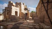 Hathor Temple 01 por Louis Lavoie