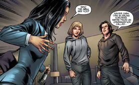 Charlotte se encuentra con Galina y Xavier