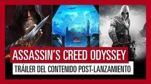 Assassin's Creed Odyssey Tráiler del Contenido post-lanzamiento y del Season Pass