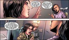 Charlotte discute con Xavier