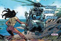 Charlotte y el helicóptero