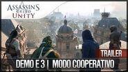 Assassin's Creed Unity Demo E3 2014 Modo COOPERATIVO Comentada en Español