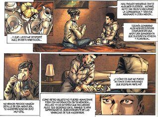Desmond habla con Lucy
