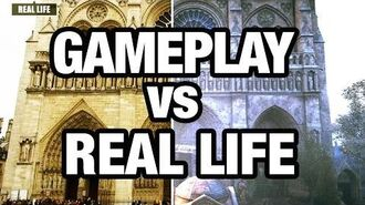 Assassin's Creed Unity vs. Real-Life-0
