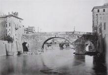 Ponte Cestio, Rome, Italy. Pic 01
