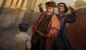 Micheletto mata en público