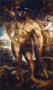 Hércules en el Jardín de las Hespérides
