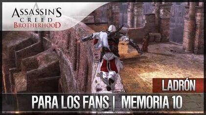 Assassin's Creed Brotherhood - Walkthrough Español - Ladrón - Para los fans -10- 100%