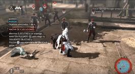 Lucha en la Plaza del Pueblo