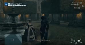 Arno conoce al Chevalier d'Éon
