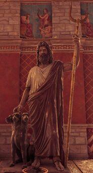 Estatua de Hades Ciudad de Elis