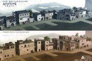 Edificios por Thierry Doizon