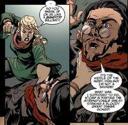 Glaucia amenaza a Nobby