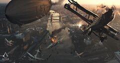 Londres bajo fuego WWI