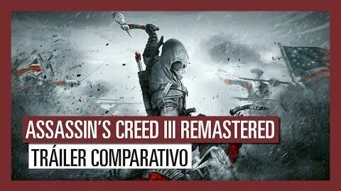 Assassin's Creed III Remastered Tráiler Comparativo Mejoras