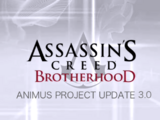 Animus Project Update 3.0