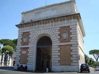 Porta San Pancrazio Rome2