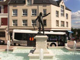 Estatua de Bara en Palaiseau