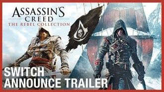 Assassin's Creed - Anuncio de lanzamiento The Rebel Collection