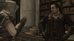 Mario and Ezio after the death Francescos
